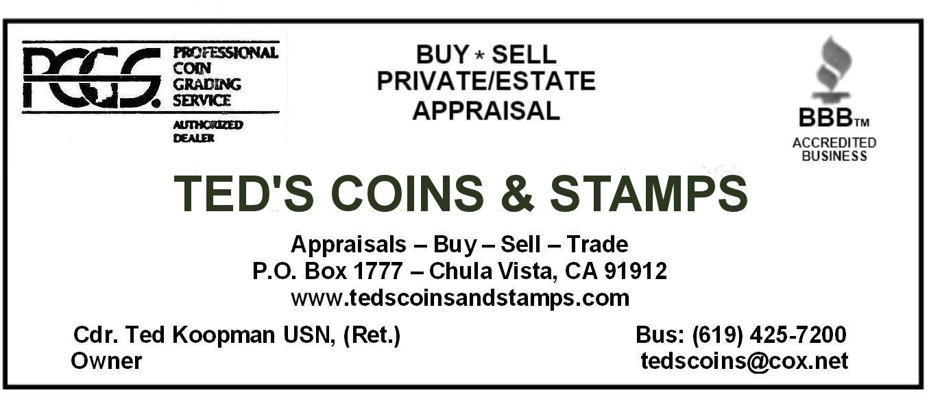 Ted's Coins and Stamps