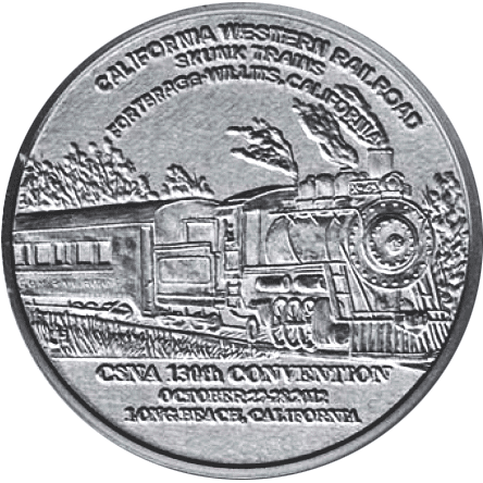 CSNA Convention Medal design